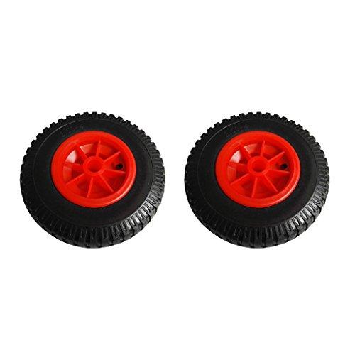 Sharplace 2 Piezas de 8 `` / 20,32 Cm de Diámetro Exterior de Repuesto/Neumático de Repuesto a Prueba de Pinchazos en La Rueda para Kayak Canoa Carro/Remolq