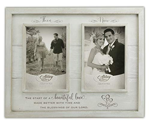Abbey Gift (Abbey & CA Gift Now Anniversary Wood Frame, 12' x 9.5',...