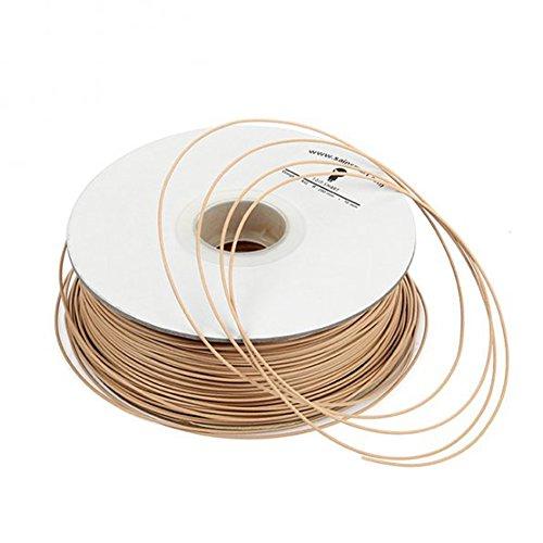 SainSmart importado 1.75 mm Colour marrón claro filament con marco de madera 1 kg/1 kg for 3D para impresoras Reprap, MakerBot replicador de 2, Afinia, Solidoodle 2, Printrbot LC, Máquina para hacer Gear M2 y up!(Afinia serie H)