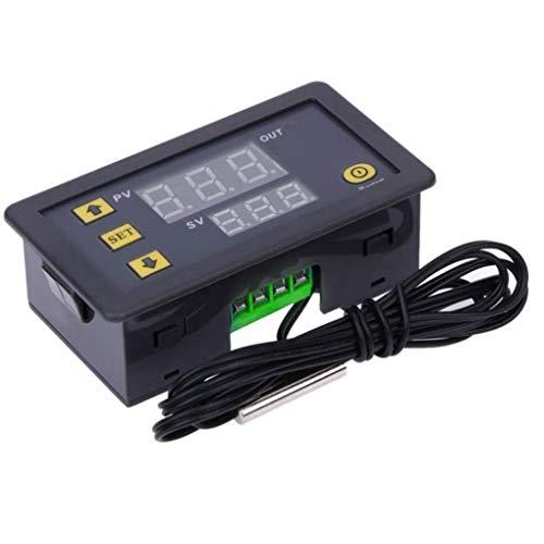 Guangcailun 12V 20A W3230 LCD Digital termostato de Temperatura de Alarma del Controlador Meter Regulador de Alta Temperatura