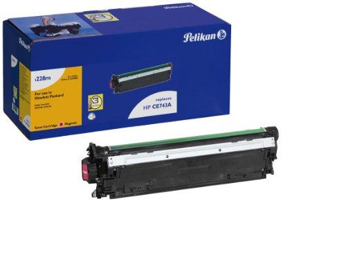 Pelikan 4214096 - Tóner para impresoras láser (7000 páginas, Equivalente HP CE743A), Magenta