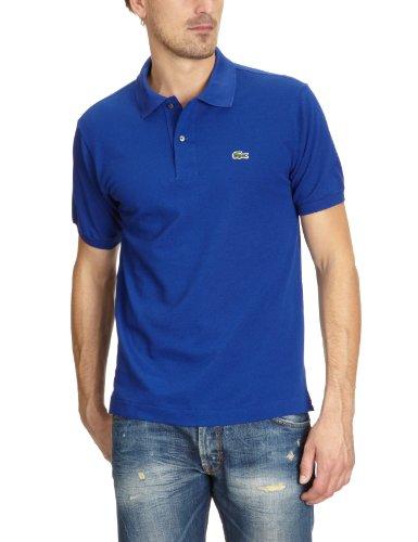 Lacoste Herren Regular Fit Poloshirt L1212, Blau (BDM), M (Herstellergröße: 4)