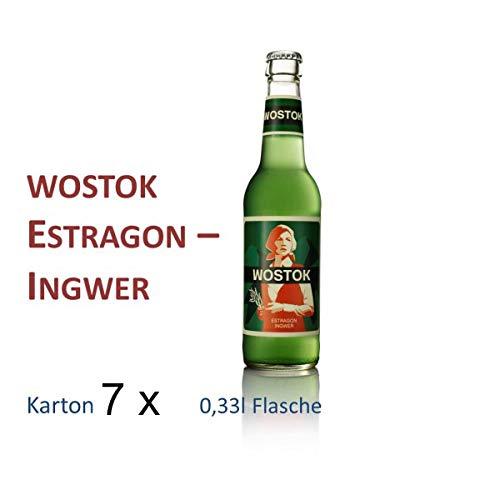 Wostok Estragon 7 Flaschen je 0,33l