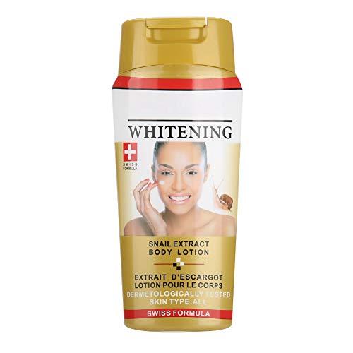 250ml Body Cream feuchtigkeitsspendender und aufhellender Teint, feuchtigkeitsspendende Lotion Weiche, seidige Körperlotion feuchtigkeitsspendende Whitening Anti Falten Creme(02#)