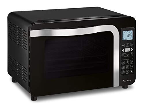 Moulinex Delicio Tactil Horno 39 L, 6 modos de cocción, 9 programas automáticos, 240ºC, Perforante, preciso, cocción homogénea, cocción a baja temperatura, fácil de limpiar OX286810