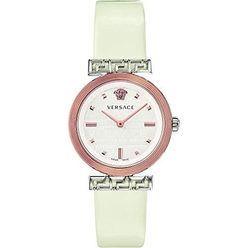 Versace Greca - Reloj de pulsera para mujer, moderno, cód. VELW00120