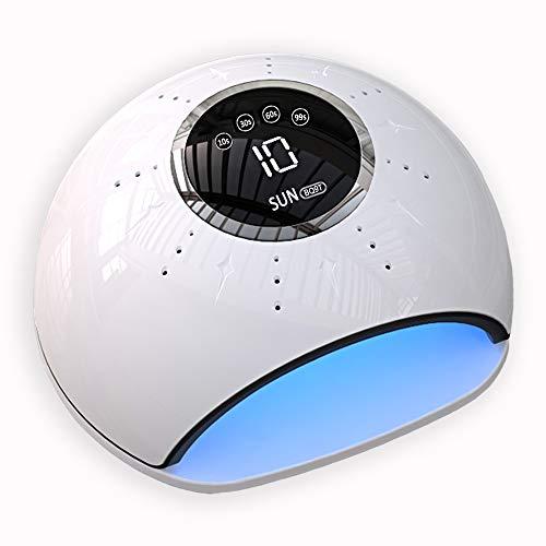 UV LED Lampe für Nägel, Nageltrockner, Professionelle 72W Nagellampe mit 4 Timer Auto-Sensor Touchscreen Abnehmbare Platte,Aushärtungswerkzeug für Fingernagel/Zehennagel gel shellac polygel lack