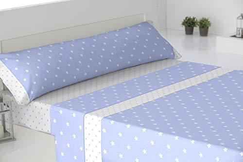 El Barco Estrella Juego de sábanas, 1, Azul, 150, 8