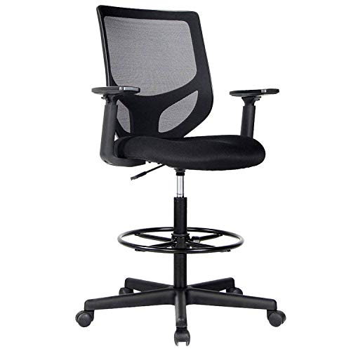 SmugDesk Drafting Chair Tall Office Chair