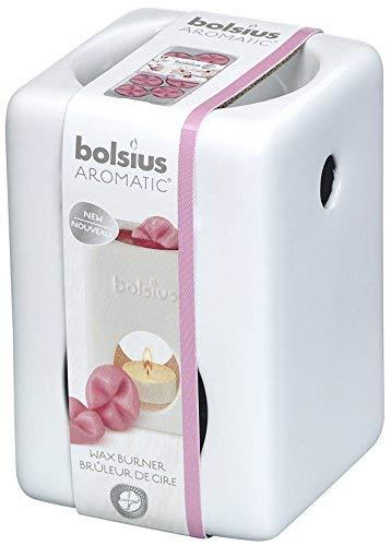 bolsius Duftlampe Aromatic Karree weiß