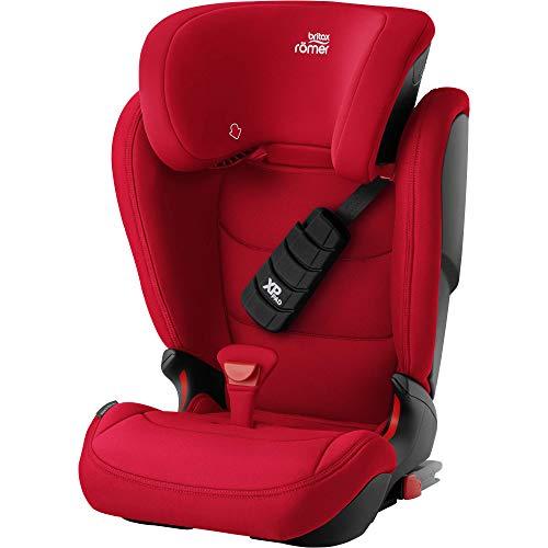 Britax Römer Kindersitz 3,5 - 12 Jahre I 15 - 36 kg I KIDFIX Z-LINE Autositz Gruppe 2/3 I Fire Red