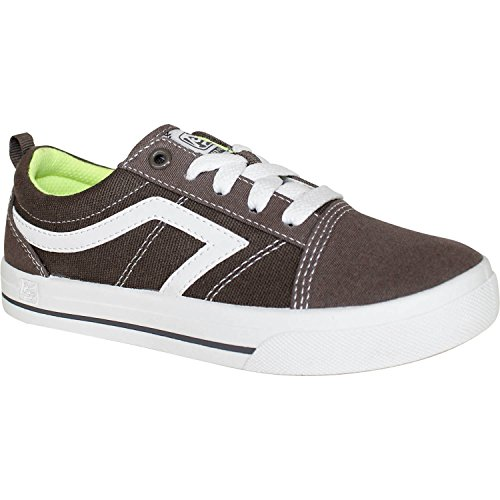Airspeed Boys' Canvas Casual Shoe (Big Boys 5) Grey