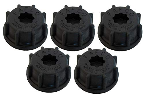 SunSaver Fafco Replacement Cap for Roof Strap - 5 Pack
