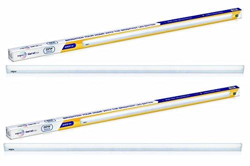 Wipro High Lumen 22-Watt LED Batten (Pack of 2, Cool Day Light)