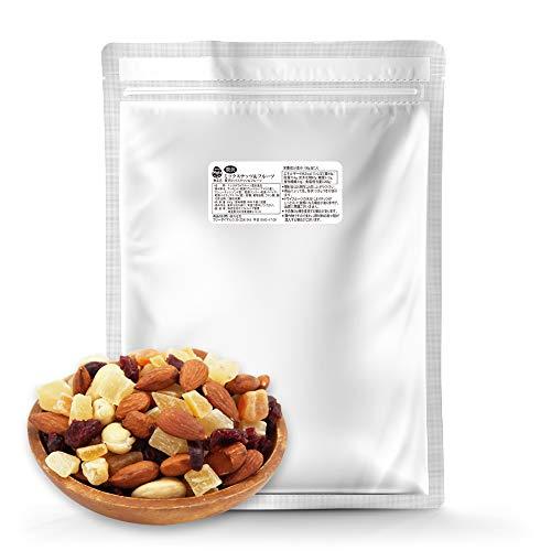 贅沢 6種 ミックスナッツ&ドライフルーツ 1kg マンゴー・パパイヤ・パイナップル・クランベリー・アーモンド・カシューナッツ