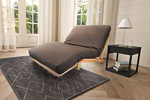 Best Deals! KD Frames Lounger Futon, Queen