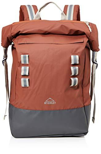 McKINLEY Daybag Tokyo Rolltop, Unisex Adulto, marrón y Gris Antracita, Talla única