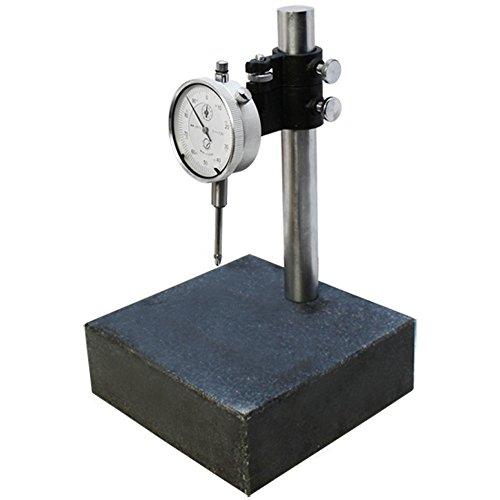 6x6x2 Granite Check Stand Surface Plate & DIAL INDICATOR Gauge Granite Block