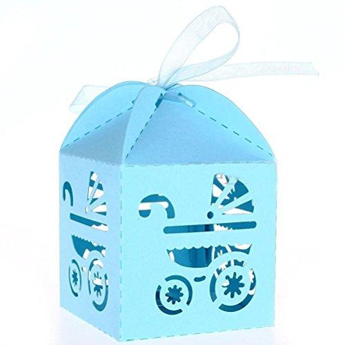 PIXNOR 50 Piezas Caja para Caramelos Regalo Bombones