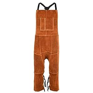 Leather Welding Apron Split Leg for Men 12