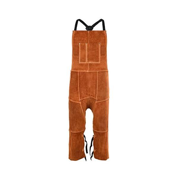 Leather Welding Apron Split Leg for Men 1