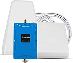 Cell Phone Signal Booster for Home Office Cottage | Supports T-Mobile,Verizon,AT&T,U.S.Cellular,MetroPCS,Straight Talk | Boost 4G LTE Data Speed onBand 12/13/17(700Mhz) with 2 high gain Antennas