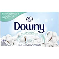 2-Pack x 250-Count Downy Fabric Softener Dryer Sheets