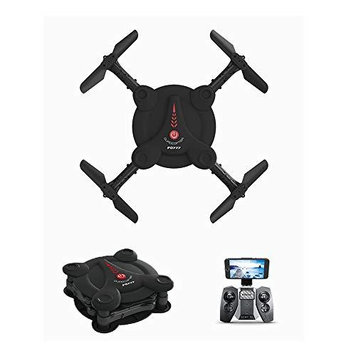 UNIIKE Mini Drone Tascabile con Videocamera Live Video, Drone Tascabile Pieghevole EACHINE E55 per Bambini E Principianti Quadcopter RC con Mantenimento Dell'altitudine