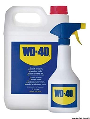 WD-40 multifunctionele smeermiddel 5 l + 1 spuitbus