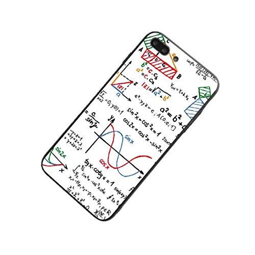 Zodiark Jewellery iPhone 7 oder 8 Schul-Whiteboard-Design mit mehrfarbigen Lernnotizen