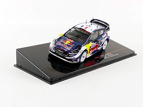 Ixo Ford Fiesta WRC #1 S. Ogier Winner Tour de Corse 2018 Red Bull 1:43