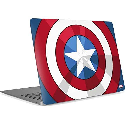 Skinit Decal Laptop Skin for MacBook Pro 16in (2019) - Officially Licensed Marvel/Disney Captain America Emblem Design