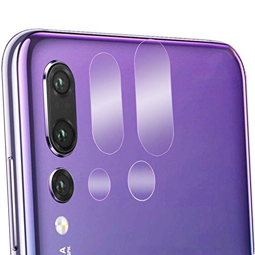 Olixar Protectores Cámaras Huawei P20 Pro Fabricados en Cristal Templado - Claridad Total - Pack 2