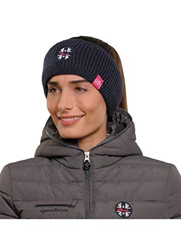 SPOOKS Damen Kopfband, Headband, Stirnband, Haarband - Sommer, Winter, Schweiß Band - Bea Headband Navy OneSize
