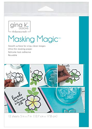 Gina K Designs GINA K MASKNG SHEETS, us:one size, Other