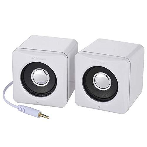 オーム電機『ステレオスピーカーミニAudioComm(ASP-204N)』