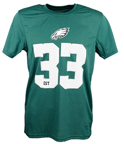 New Era Philadelphia Eagles New Era T Shirt NFL Team Supporters Tee Green - M
