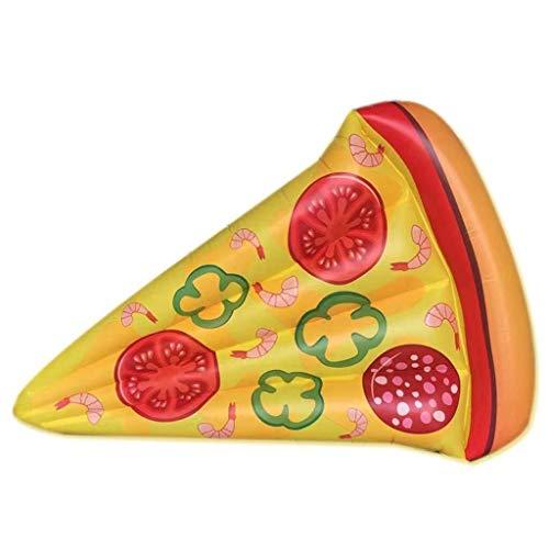 LCSD Juguetes inflables de la Piscina Piscina Inflable, Inflable Pizza Piscina Diversión Flotante Playa Flotadores Piscina Fiesta Juguetes Piscina Isla de Verano Piscina for Adultos y salón Infantil,