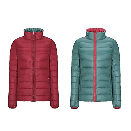 YRFHQB winterjas vrouwen Parka Ultralicht donsjack eendendonzen dunne draagbare warme korte jas herfst outwear