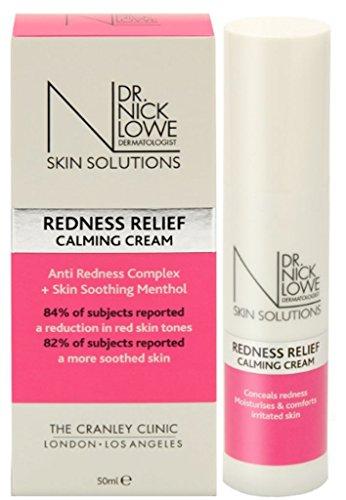 Dr Nick Lowe Dermatologue Peau Solutions Soulagement Dès Rougeurs Calmant Crème 50ml