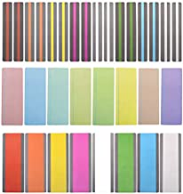 Reading Guide Highlight Strips (32 Pack) Colored Overlays Bookmarks Reading Tracking Rulers for Children, Teachers, and Dyslexics