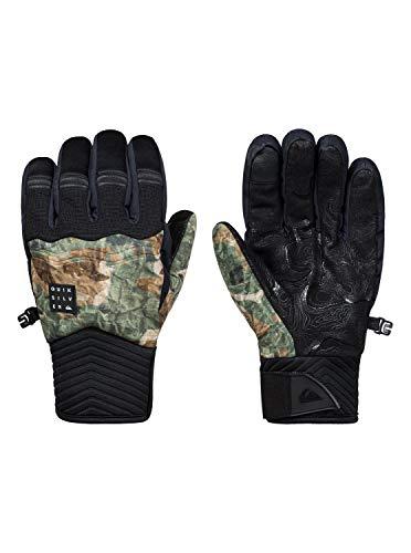 Quiksilver Men's Method TECH Snow Gloves, Grape Leaf TANENBAUM, L