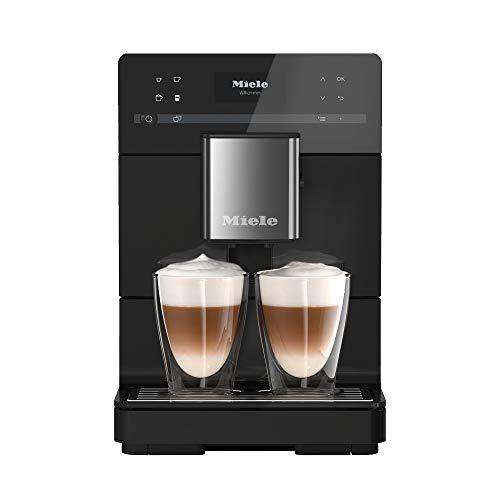 Miele CM 5310 OBSW, Macchina Caffè Automatica, Caffè e Cappuccino, 1.5 KW, Caffè in Grani o in Polvere, Silence, Nero