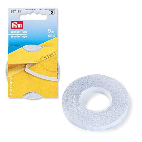 Prym 6 mm 9 m Wonder Tape, Polyester, transparent 6,5 x 6,5 x 0,6 cm