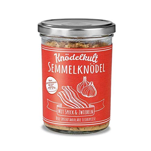 Knödelkult - Semmelknödel Mit Speck Und Zwiebeln - 350g Glas