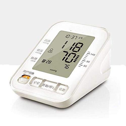 xycdy Blood Pressure Monitor,Upper Arm Blood Pressure Monitor Home Use Digital Automatic Upper Arm Measure Blood Pressure and Heart Rate Pulse with Wide-Range Cuff 2 x 99 Memories