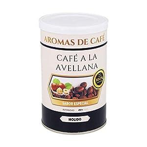 Café Avellana | Café Molido 100% Arábica | 100 gr | Intensidad Media | Procedente del Centro y Sur de América | Café Molido Natural Ligeramente Tostado
