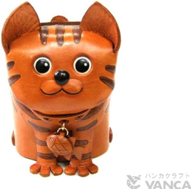 disfruta ahorrando 30-50% de descuento Genuine leather leather leather glasses stands taken cat [handmade made in Japan, new, craftsman] [VANCA] (japan import)  tienda en linea