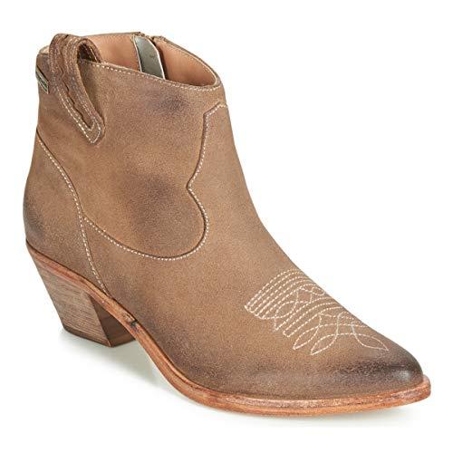 LES TROPÉZIENNES PAR M BELARBI ZAEL Enkellaarzen/Low boots femmes Taupe Enkellaarzen