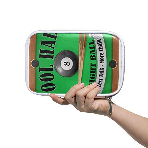 Tier Bleistift Fall Stift Briefpapier Tasche für Student Boy Girl Reißverschluss Tasche Geldbörse Ball Sport Billard Coole Kosmetik Make-up Tasche Brille Fall